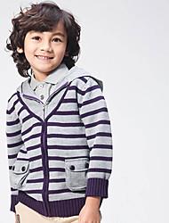 Pull à capuche & Sweatshirt Boy Rayé Hiver Coton