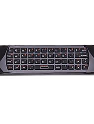 Rii I25 sem fio 2.4Ghz 44-Key Keyboard Air Mouse Controle Remoto IR