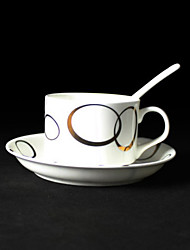 Golden Circle tazza di caffè, porcellana 5 once