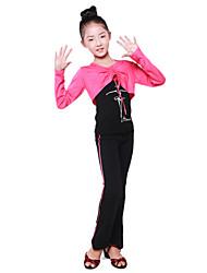 Dancewear japanischen Cotton Lace-up Solid Color Wrap Ballroom Dance For Kids (weitere Farben)