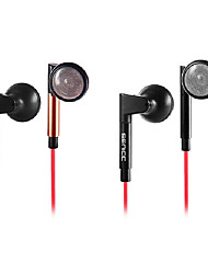 SENICC MX-136 Fashionable In-Ear Earphone with Mic and Remote for PC/iPhone/Samsung/HTC /iPod