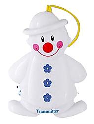 Nette Twin Snowman drahtlose Baby-Schrei-Detektor-Monitor Alarm