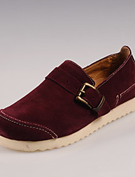 Chaussures Handmade Simul marées Chaussures Chaussures en cuir (à vin)