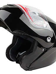 936-R4 High-Quality Motorcycle Racing Full Face Open Face Helmet (Black)