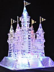 105 morceaux de musique scintillante 3D Crystal Castle Puzzles