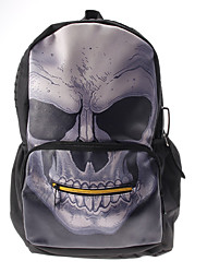 Punk Skull Type Stylish Backpack