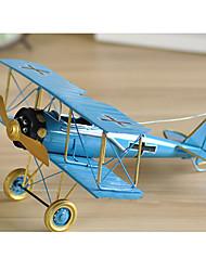"""5.50 """"H rétro en métal de style avion de collection"""