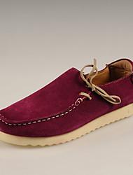 Chaussures New Handmade Simul marées Chaussures Chaussures en cuir (fuchsia)