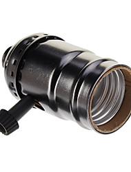Plaqué noir Vis Douille (250W, 250V)