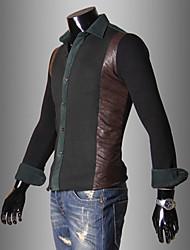 Causal Couture épais shirt hommes