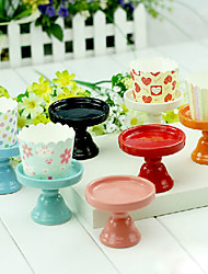 Table Centerpieces Ceramics Cupcake Stand   Table Deocrations (More Colors)