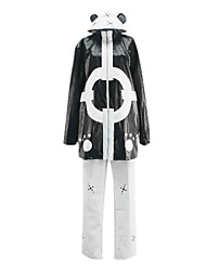 Inspired by One Piece Bartholomew Kuma Anime Cosplay Costumes Cosplay Suits Patchwork White / Black Top / Pants