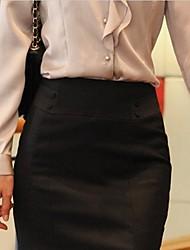 Femininos Primavera cabido Bodycon Skirt