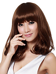 New Fashion Women'S Medium Curly Full Synthetic Synthetic Wig