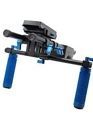 RL-04 Soporte DLSR Rig Soporte Estabilizador cámara Kit Vídeo de hombro Pad Fotografía Accesorios Centro de informes