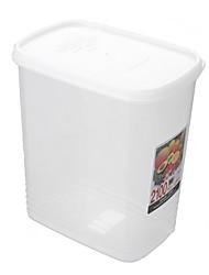 Classic White Solid Rectangular Storage Box
