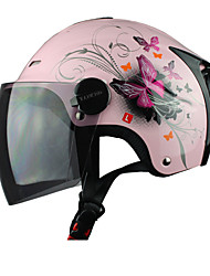 Racing T502-2 ABS Material Anti-UV Motorcycle Racing Half Helmet (Optional Colors)
