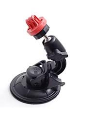 Red Universal super puissant voiture ventouse pour GoPro Hero 3/2/1