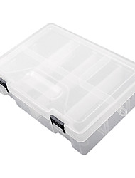 2x3-Grids Transparent  Light and Convenient Tool Box