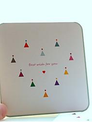 Bandiera del modello Greeting Card - set di 12