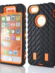 Pour Coque iPhone 5 Antichoc Coque Coque Intégrale Coque Armure Dur Polycarbonate pour Apple iPhone 7 Plus iPhone 7 iPhone SE/5s/5