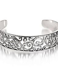 Silk Road Elegant Cut Out SS925 Silver Bracelet