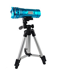 LT-SL-LCD7 6-Mode 3x18650 Mise au point réglable LED Flashlight