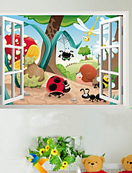 Animal Insects Family Nursery Kids Room Wall Sticker