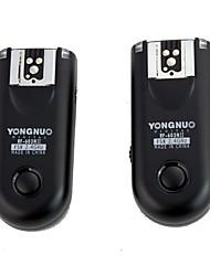 Nouveau YONGNUO RF-603 II 2.4GHz Wireless Déclencheur Flash Emetteur Récepteur Set pour Nikon D2H / D800 / D700 / D300 etc