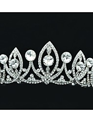 5,2 centímetros Limpar Áustria strass noivas casamento Tiara Headband