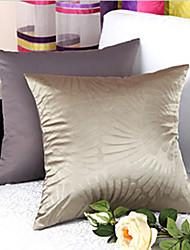 Motif moderne élégant de fleurs en relief solide coussin décoratif avec insert