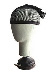 Women's Black Nylon Wig Cap