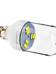 E12 1W 6x5730SMD 70-90LM 5800-6200K холодный белый свет Светодиодные пятно лампы (220-240V)