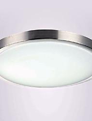 Contemporain minimaliste LED Flush Peinture acrylique aluminium Light Mount