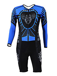 KOOPLUS® Tri Suit Women's / Men's / Unisex Long Sleeve Bike Breathable / Quick Dry / Moisture Permeability / WearableCoveralls / Clothing