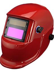 Red Li Bateria Solar Auto Escurecimento Welding Helmet