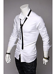 Men's Tie Include Fashion Long Sleeve Shirt