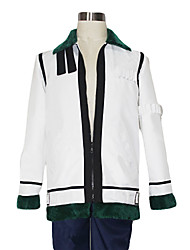 Inspirado por One Piece Cosplay Animé Disfraces de cosplay Tops Bottoms Cosplay Retazos Blanco / Verde Abrigo