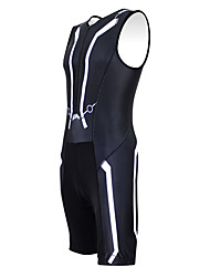 KOOPLUS - Triathlon Energetic Line Black Sleeveless Wear and Shorts Conjoined Cycling Clothing
