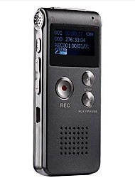 Neu 8G MP3 Digital Voice Recorder (grau)