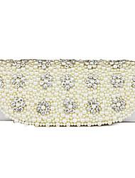 Prachtige zijden met strass Pearl koppelingen / avond handtassen (meer kleuren)