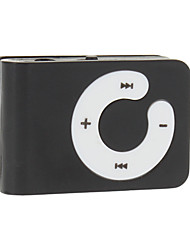 Mini lecteur MP3 portable Support carte TF avec clip (couleurs assorties)