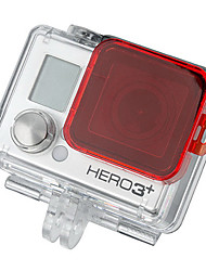 GoPro HD Hero 3 + PC In Filtro Sea Cover - Rosso