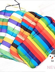 Baby Stroller Thick  Rainbow Cotton Seat Pad Mattress