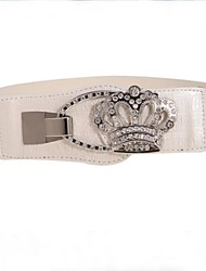 Moda Donna Crown Cintura larga