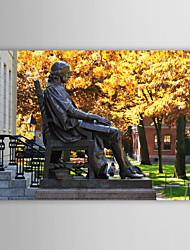 Stretched Canvas Print Art Landscape Harvard University, USA