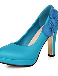Women's Chunky Heel Heels Pumps/Heels with Bowknot Shoes(More Colors)