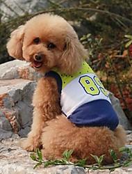 Haustier-Digital-Sport-Weste für Haustiere Hunde (verschiedene Farben, Größen)
