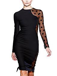Women's Dresses , Cotton/Others/Spandex Missmay