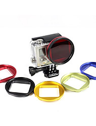 52mm High Quality Aluminum Alloy Adapter for Gopro 3+ Camera